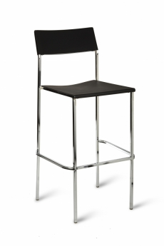 Julia Stacking High Stool - Simply Tables and Chairs - Black
