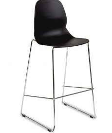 Shore Cafe High Stool - Simply Tables & Chairs - Black