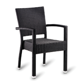 Italia Outdoor Stacking Weave Armchair