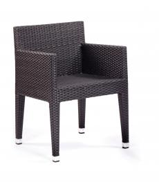 Italia Outdoor Weave Box Chair - Simply Tables and Chairs