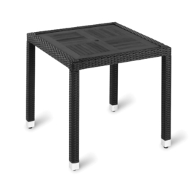 Ville Outdoor Square Wood Effect Table - Simply Tables and Chairs