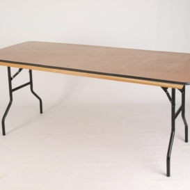 American Folding Trestle Table - Simply Tables and Chairs