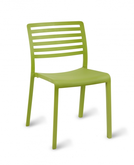 Sophia Outdoor Polypropylene Stacking Cafe Chair Simply Tables & Chairs