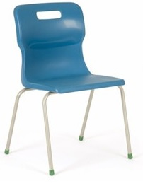 Monster 4 Leg Chair - Blue from Simply Tables and Chairs
