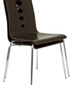 Latana Cafe Chair - Simply Tables and Chairs - Wenge